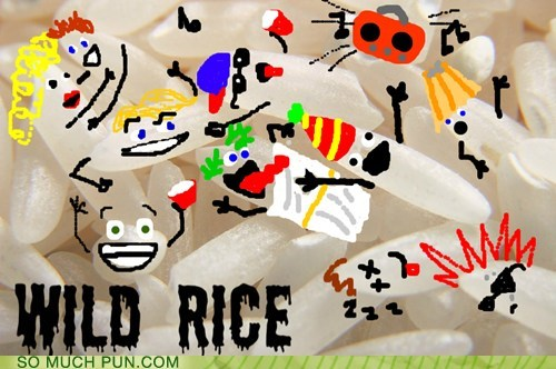 doodle,double meaning,literalism,ms paint,rice,wild,wild rice