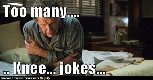 arrow to the knee Fringe John Noble jokes too many Walter Bishop - 5822658816
