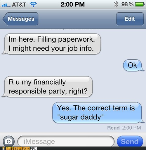 application job paperwork sugar daddy - 5823200000