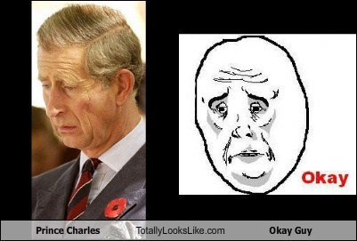 funny Hall of Fame meme okay guy prince charles TLL - 5823276544