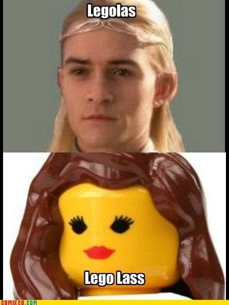 From the Movies girl lass lego legolas spelling - 5823819520