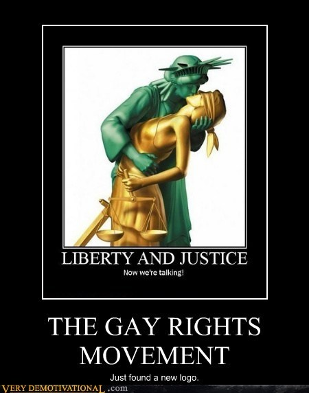 gay rights hilarious justice liberty logo - 5824545024