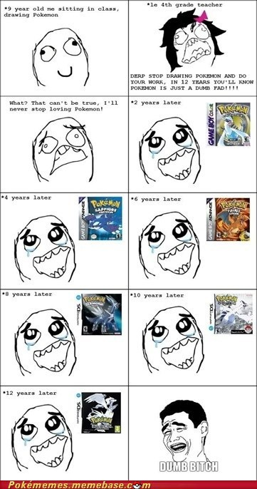 best of week,fad,love forever,over time,Pokémon,rage comic,Rage Comics