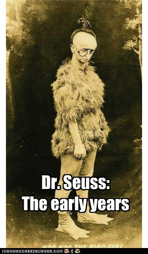 Dr. Seuss: The early years