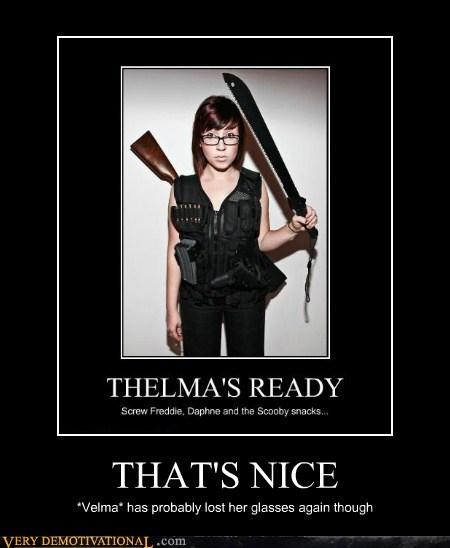 idiots,scooby doo,thelma,velma,wrong