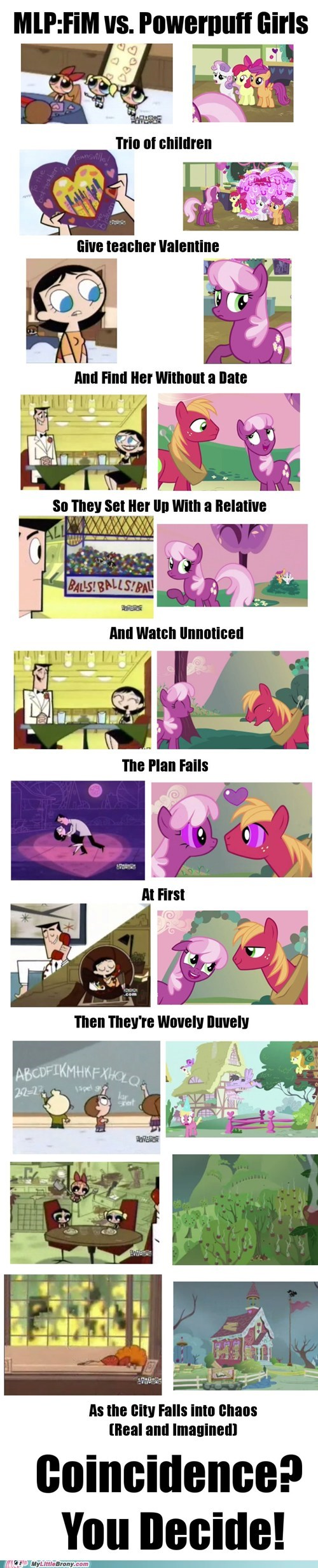 best of week,coincidence,comics,lauren faust,power puff girls,trio