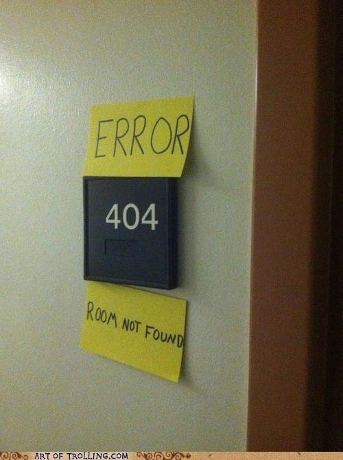 404 best of week error IRL nerd sign