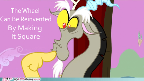 discord ponies Square wheel - 5825893120
