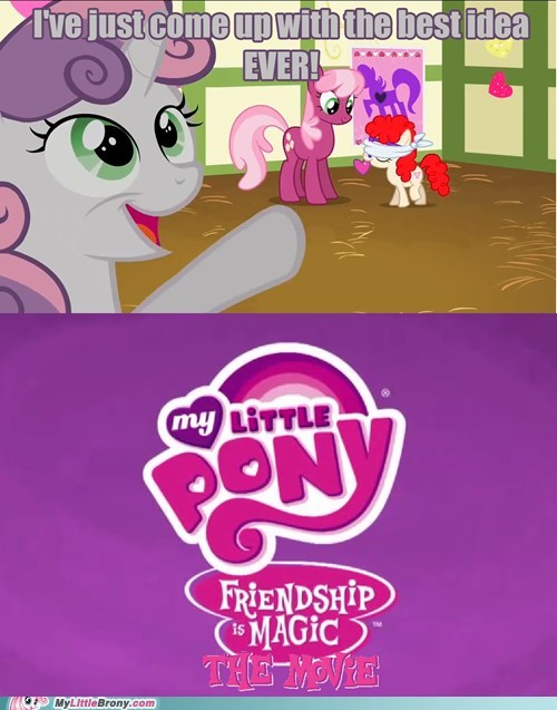 awesome comics Movie my little pony Sweetie Belle the worst possible thing - 5826217984
