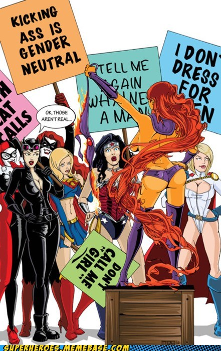 Awesome Art,bewbs,catwoman,starfire,women,wtf