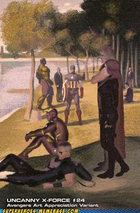 art avengers Awesome Art impressionism - 5826989824