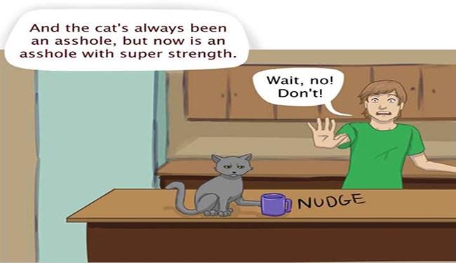 funny comics cat comics comics kitten cat superheros funny cats cat powers Cats funny - 5828357