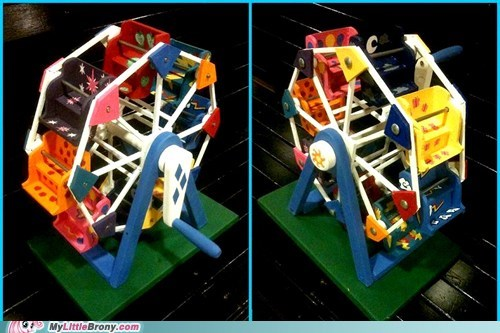 awesome cutie marks ferris wheel IRL toy toys - 5828571904