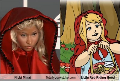 fashion funny Grammys nicki minaj red riding hood TLL - 5829164544
