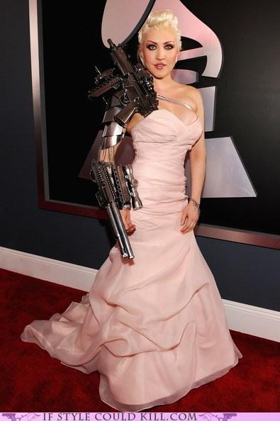 cool accessories Grammys guns robots sasha gradiva - 5829187328