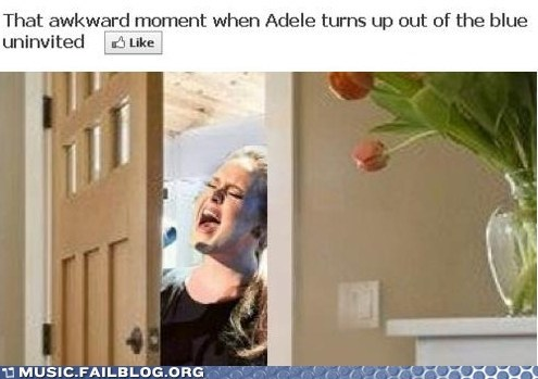 adele facebook literal Someone Like You