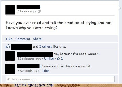 crying facebook feelings women - 5829463808