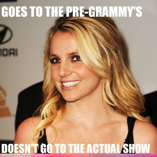 britney spears grammy awards Grammys Memes scumbag - 5829512704