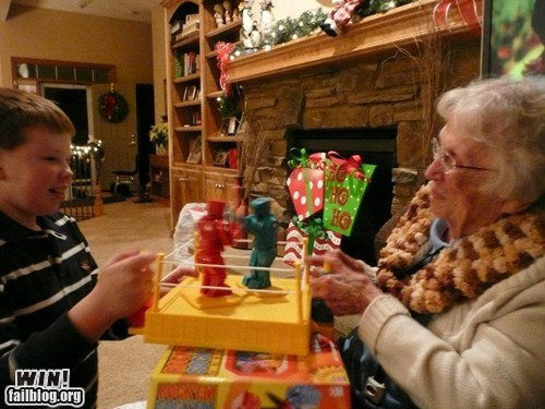 games with grandma,grandma,rock em sock em robots