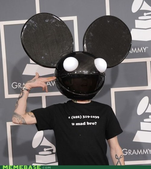 Deadmau5,Memes,people,skrillex,u mad