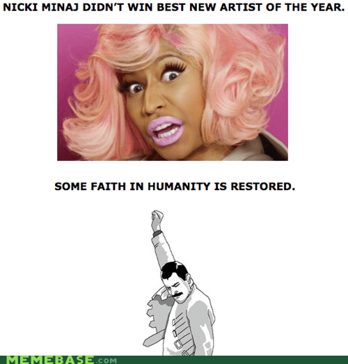 artist,faith,Grammys,humanity,Rage Comics