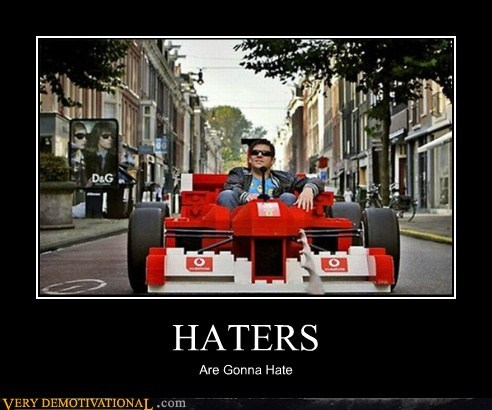 car,haters,lego,life size,Pure Awesome