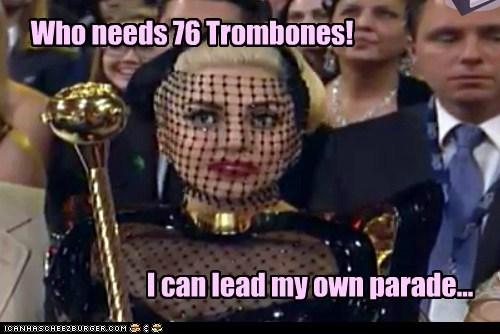 canes grammy awards Grammys lady gaga parade trombones - 5830186496