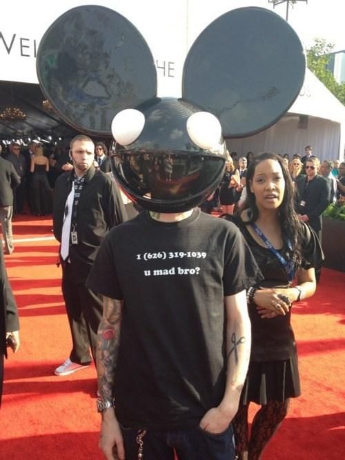Deadmau5 Grammys skrillex - 5830227968