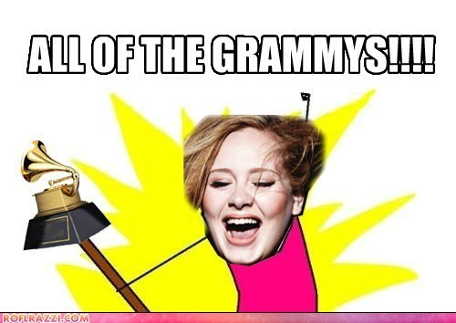 adele album of the year all the things grammy awards Grammys Memes - 5830235136