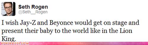funny Grammys Seth Rogen tweet twitter - 5830337280