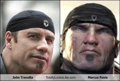 actor funny Hall of Fame john travolta marcus fenix TLL - 5830638080