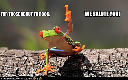 acdc,For Those About To Rock,frog,salute,we salute you