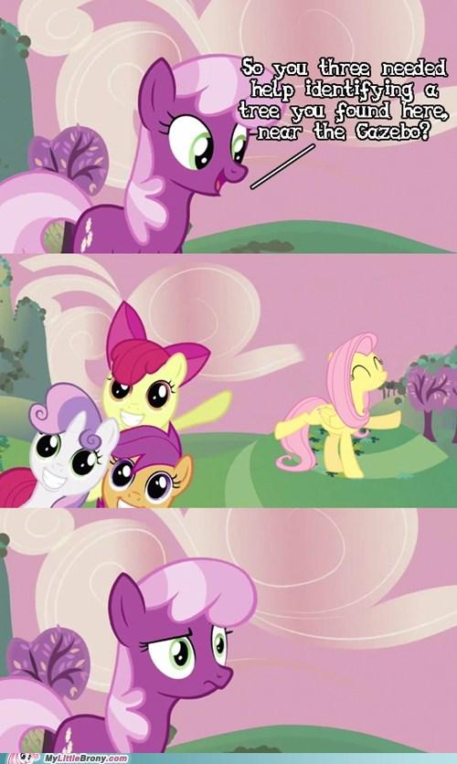 comic comics fluttershy meme tree - 5830801152