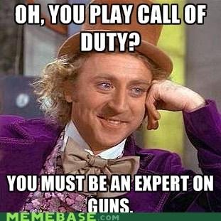 call of duty expert games gun Memes Willy Wonka - 5830900736