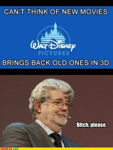 3d,disney,From the Movies,george lucas,getting old,limited time,star wars