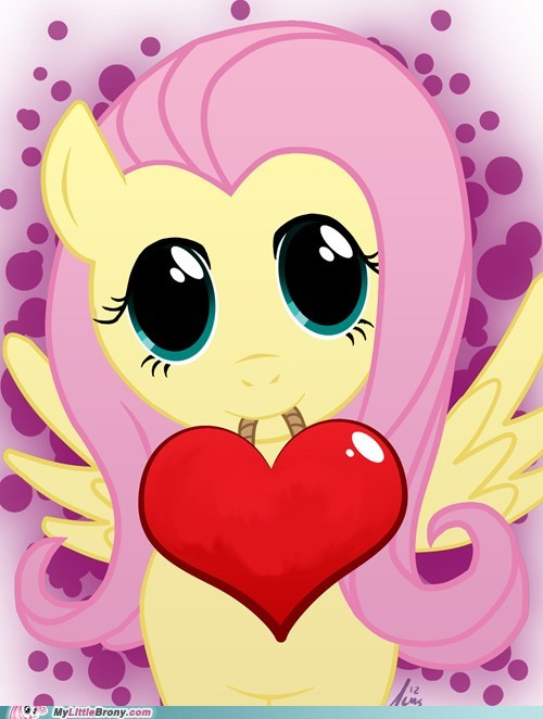 art awesome best of week cute fluttershy Valentines day - 5831916544