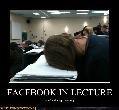 facebook,lecture,Pure Awesome,wrong