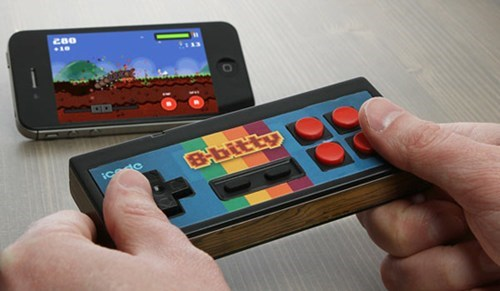 controller,icade 8-bitty,ios,ipad,iphone,Tech,ThinkGeek,Toyz,video games