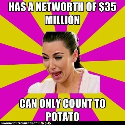 celeb funny kim kardashian meme - 5832179712