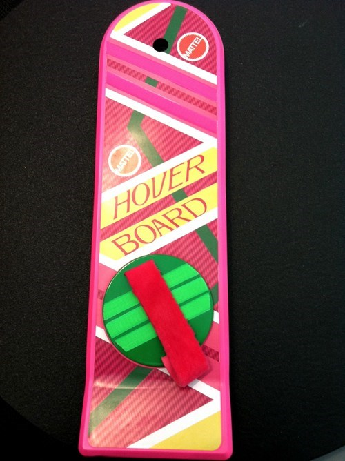 back to the future hoverboard mattel movies Nerd News replica toys Toyz - 5832191488