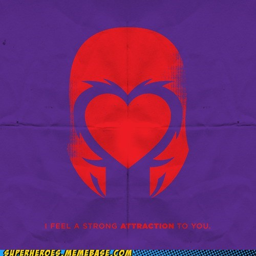 Awesome Art,foreboding,Magneto,sweet,Valentines day