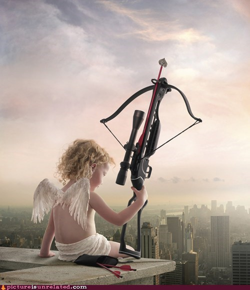 best of week crossbow cupid SOON Valentines day wtf - 5832647424