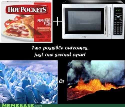 burning cold freezing hot pockets Memes microwave temperature the worst food - 5832673024
