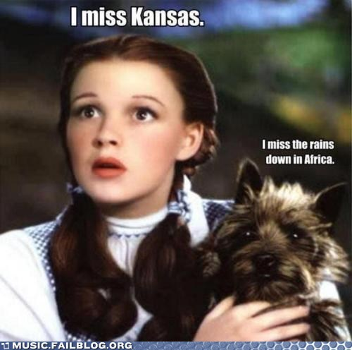 africa Dorothy g rated Hall of Fame Music FAILS toto wizard of oz