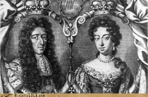 history news royalty This Day In History william and mary - 5832913664