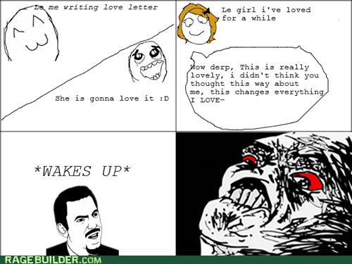dream love Rage Comics raisin rage - 5832914432