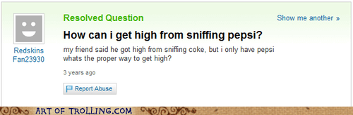 coke,high,soda,Yahoo Answer Fails
