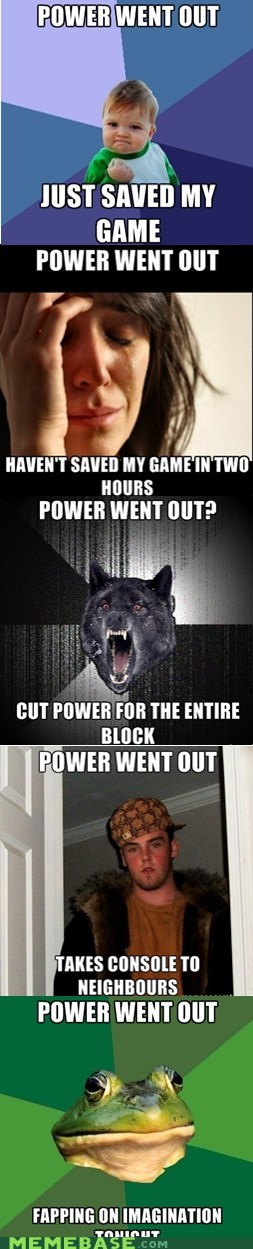 When The Power Goes Out Memebase Funny Memes