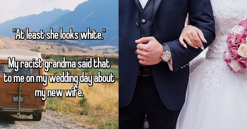 grooms reveal the worst things people have said to them on their wedding days