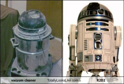 vacuum cleaner Totally Looks Like R2D2
